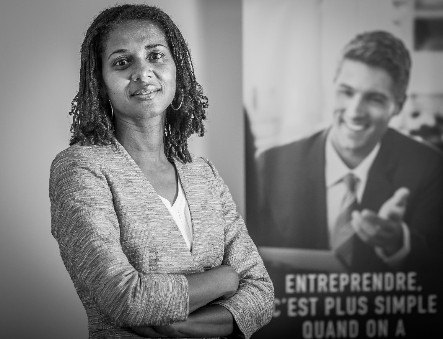 Corporate portrait professionnel Sophie